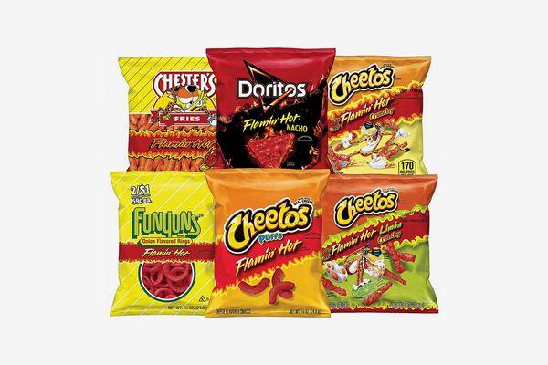 Frito-Lay Flamin' Hot Mix Variety Pack, 40 Count