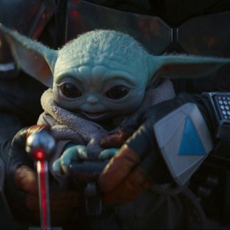 Baby Yoda in The Mandalorian.
