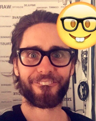 Nerdy. Jared Leto/Instagram