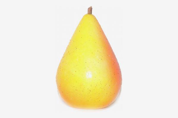 Italian Alabaster Stone Yellow Pear