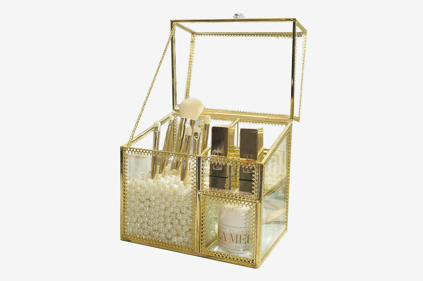 Antique Makeup Organizer