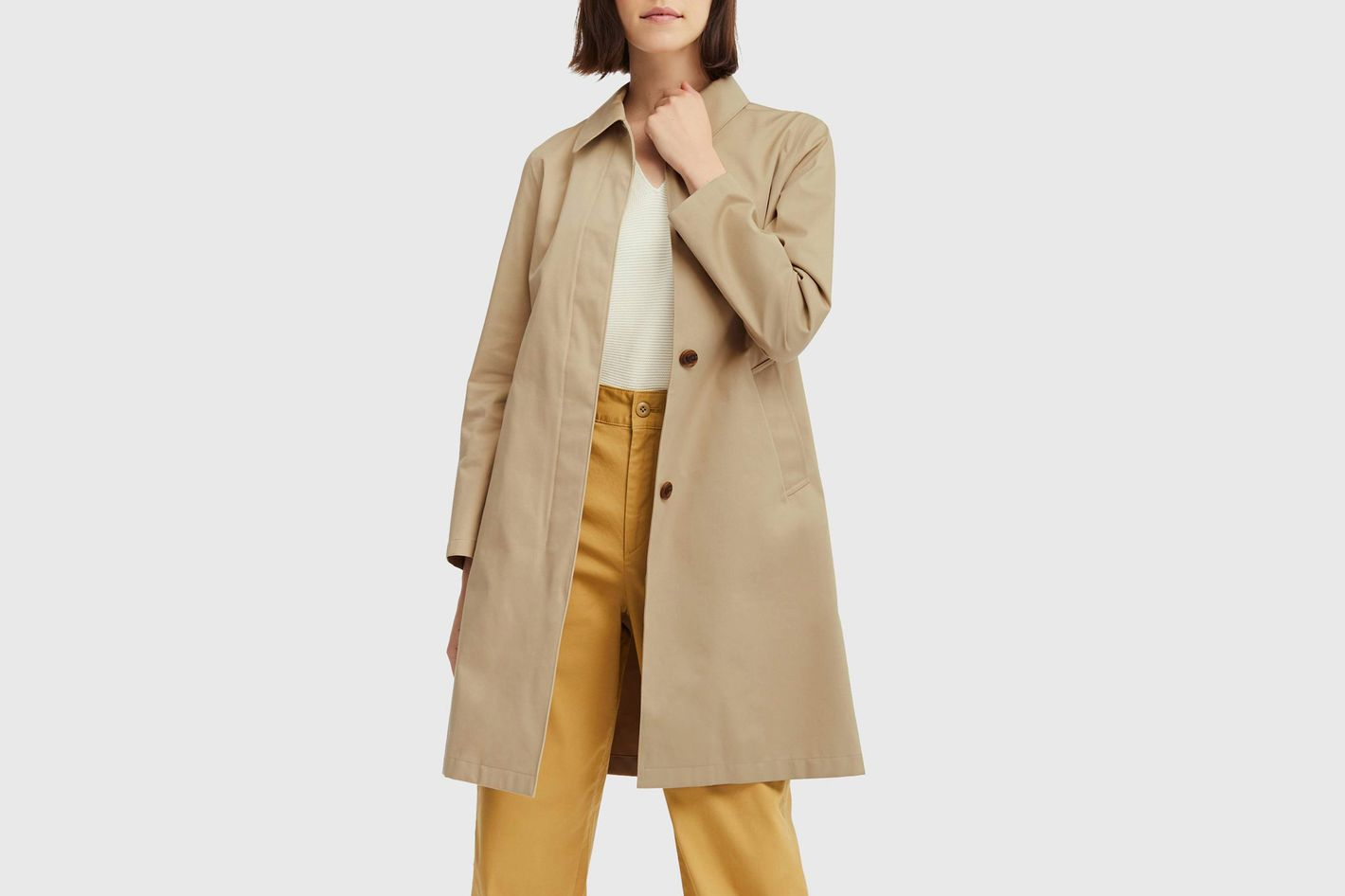 Uniqlo Blocktech Soutien Collar Coat
