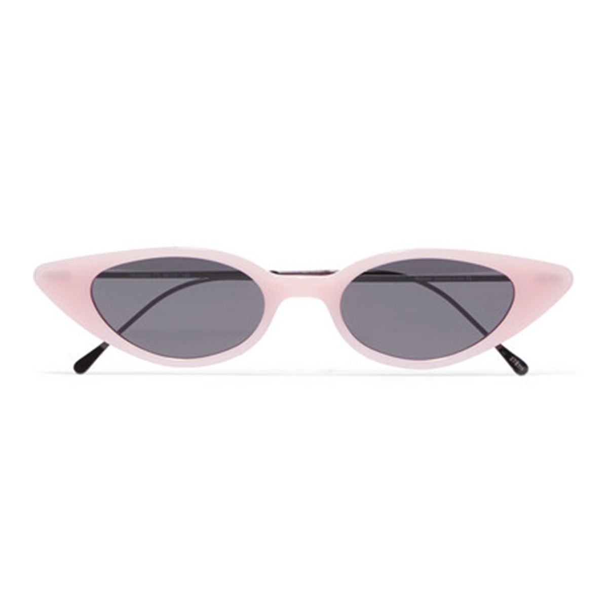 Marianne cat-eye acetate and gunmetal-tone sunglasses