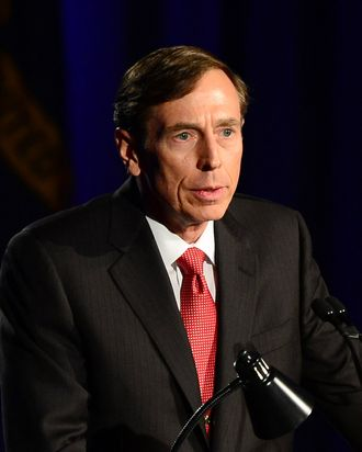 Former CIA director David Petraeus addresses a University of Southern California event honoring the military on March 26, 2013 in Los Angeles, California. In the first public appearance since stepping down last November as head of the CIA after admitting to an affair, Petraeus said he regretted and apologized for the circumstances that led to his resignation.