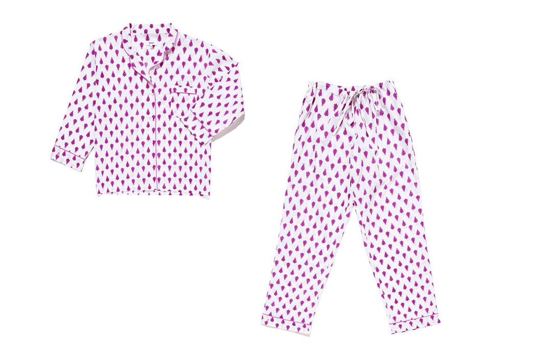 Lorient Block Pajama Set
