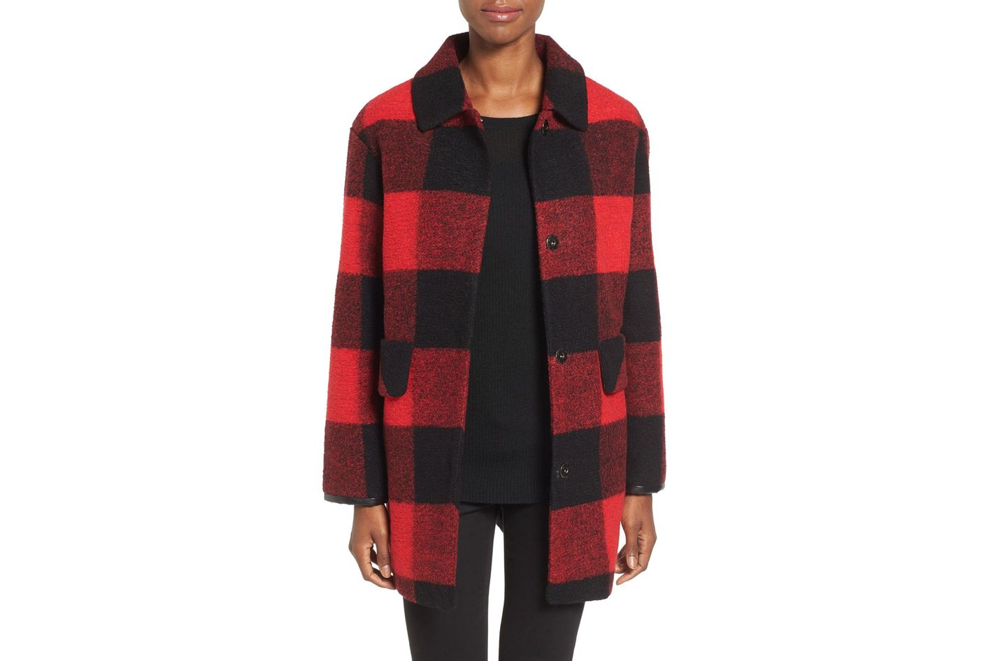 Pendleton Paul Bunyan Plaid Wool-Blend Barn Coat