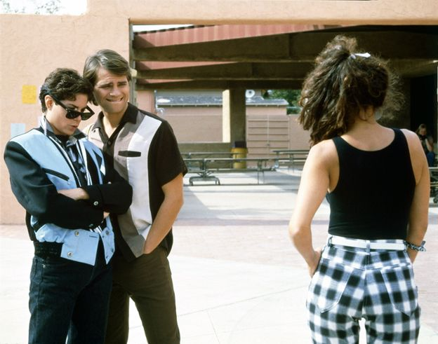 Photo 31 from Joyce Hyser in  Just One of the Guys (1985)