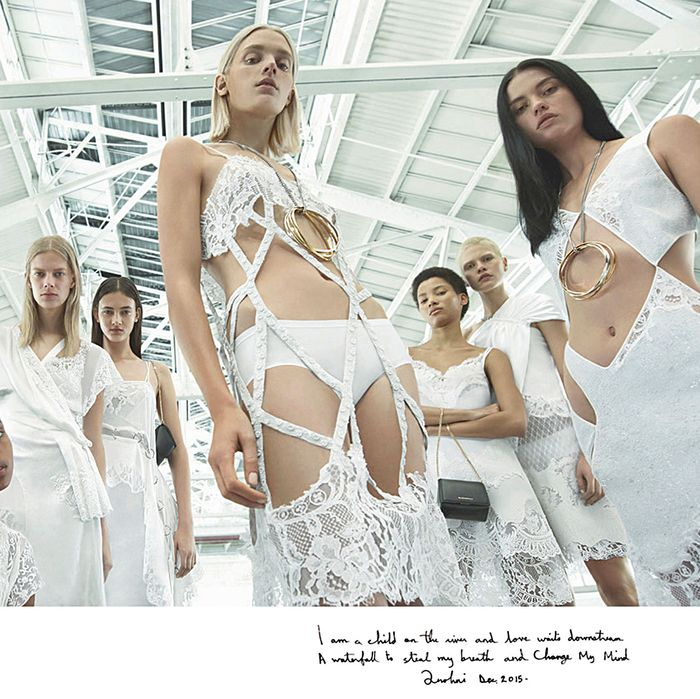 Givenchy's spring campaign with a poem by Anohni.