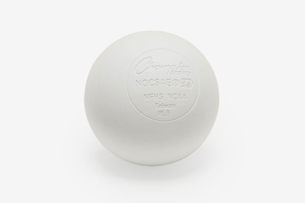 Champion Sports Lacrosse Balls - NCAA NFHS Certified — White