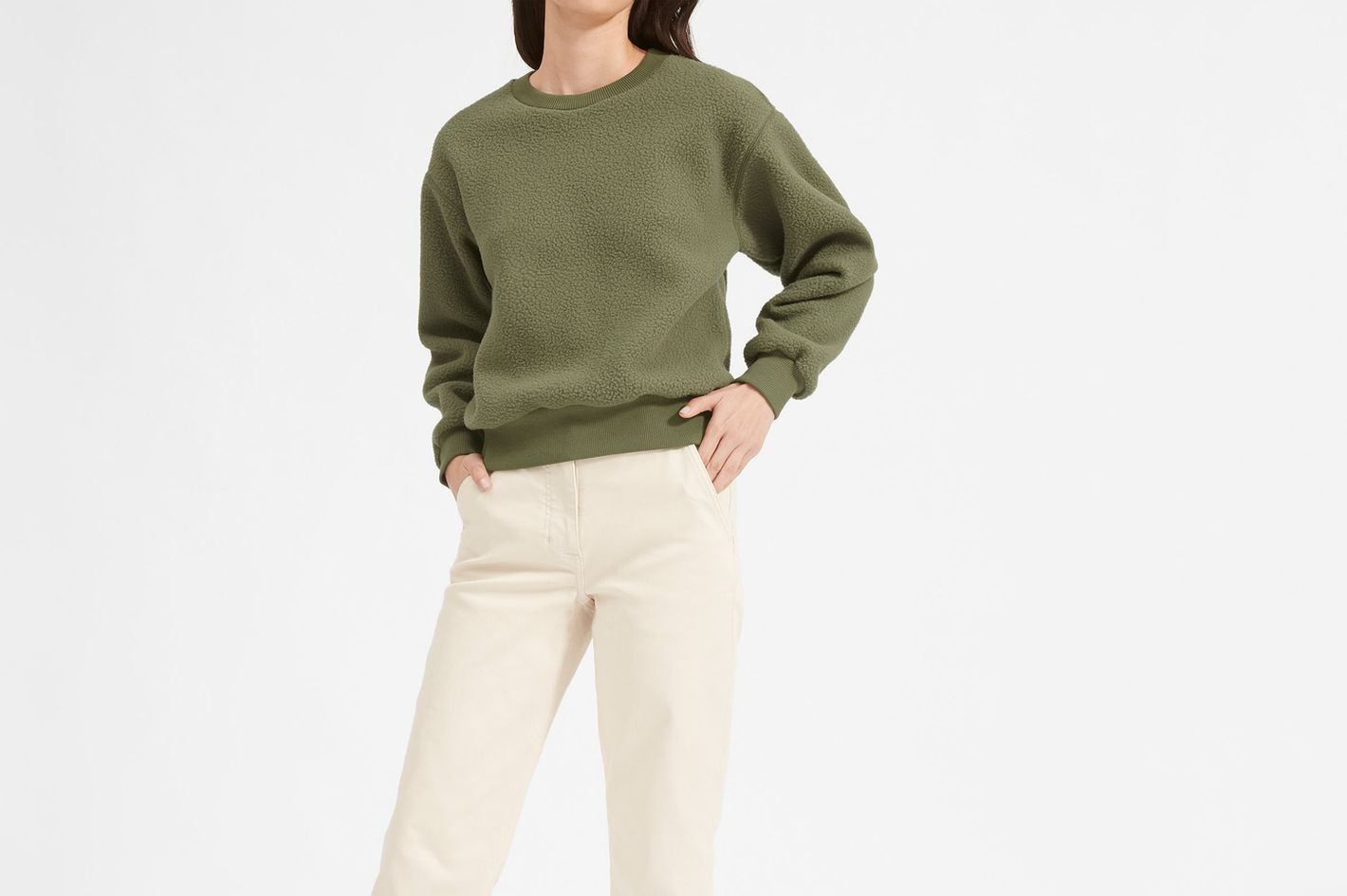 Everlane The ReNew Fleece Sweatshirt