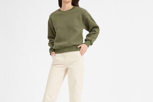 Everlane The ReNew Fleece Sweatshirt