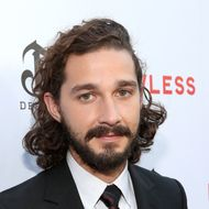 "Actor Shia LaBeouf arrives at the premiere of The Weinstein Company's ""Lawless""  held at ArcLight Cinemas on August 22, 2012 in Hollywood, California."