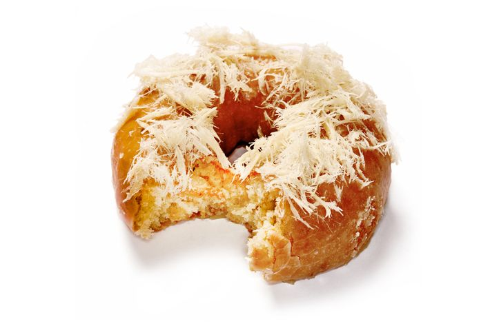 Go ahead and have a halva doughnut.