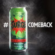 The Surge Soda Comeback Takes Its Next Major Step