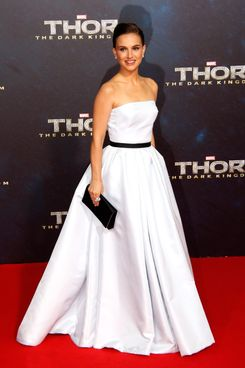 Actress Natalie Portman attends the 'Thor: The Dark World' Germany premiere at Cinestar on October 27, 2013 in Berlin, Germany.