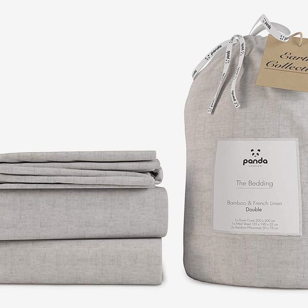 Panda Earth Collection (UK Double Duvet, Fitted Sheet, Two Pillowcases)