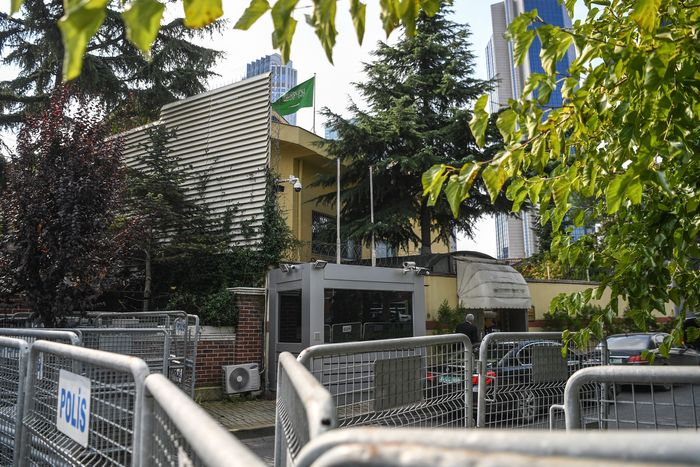 The Saudi Consulate in Istanbul
