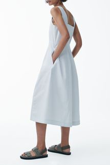 Cos Sleeveless Cotton Mini Dress