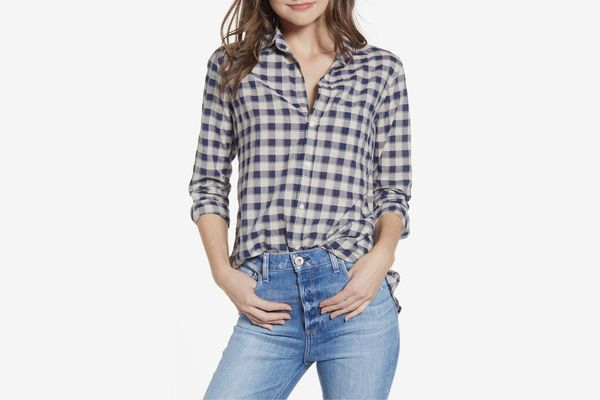 Grayson Hero Tissue Cotton Button-Up Shirt
