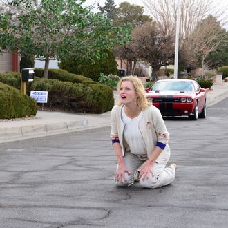 Skyler White (Anna Gunn) - Breaking Bad _ Season 5, Episode 14 - Photo Credit: Ursula Coyote/AMC