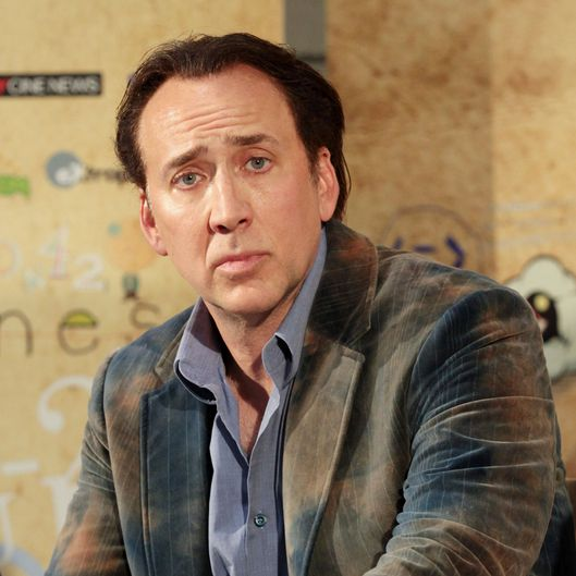 Actor Nicolas Cage attends 2012 Giffoni Film Festival press conference on July 18, 2012 in Giffoni Valle Piana, Italy.