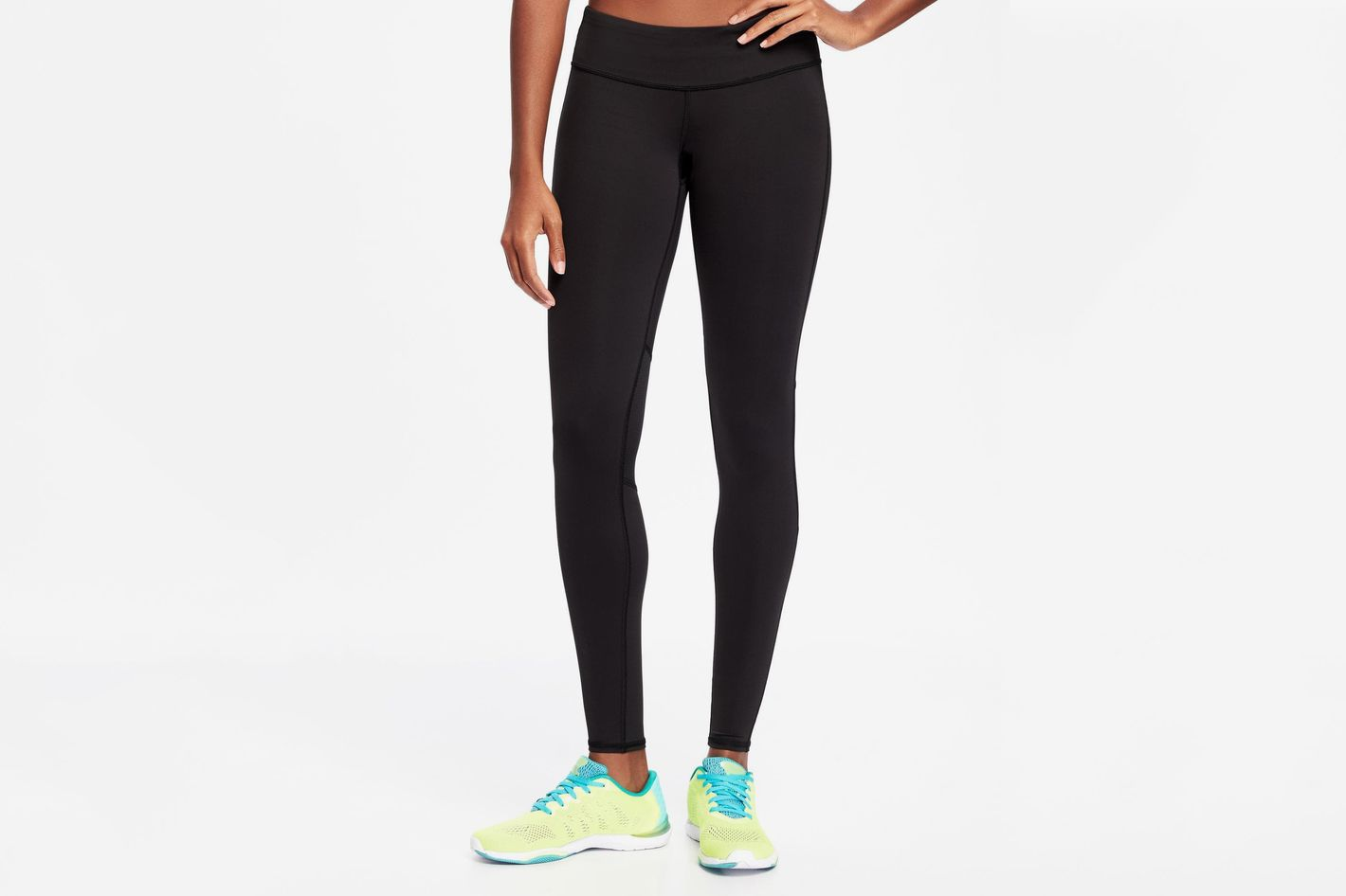 Old Navy Mid-Rise Compression Run Leggings