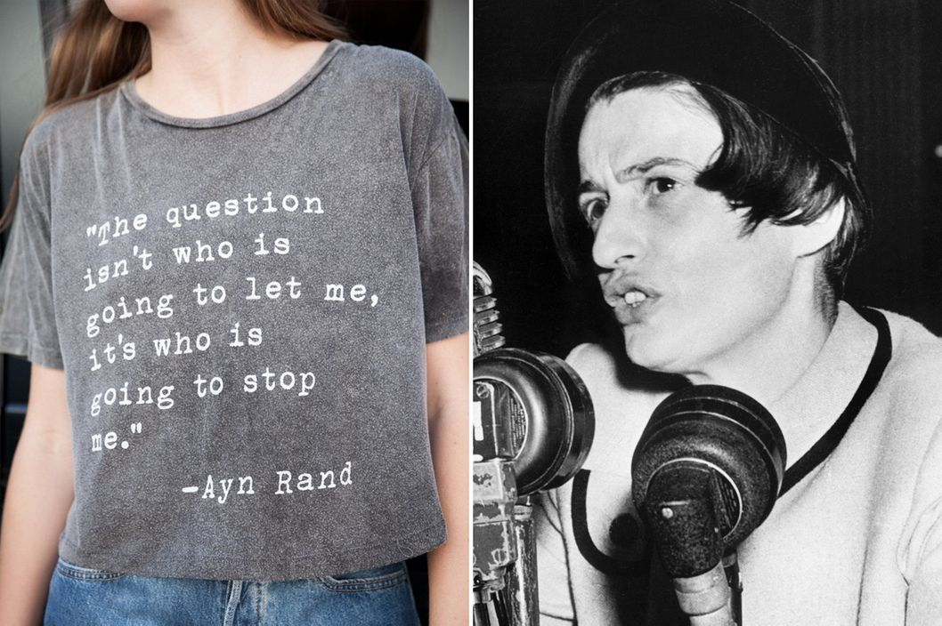 Ayn Rand, Girl-Power I...J Logo Love