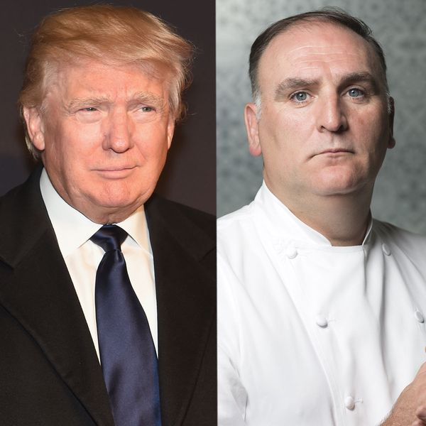 There's a Petition to Stop José Andrés From Opening a Restaurant in a Donald Trump Hotel