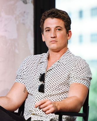 Miles Teller: definitely not a dick.