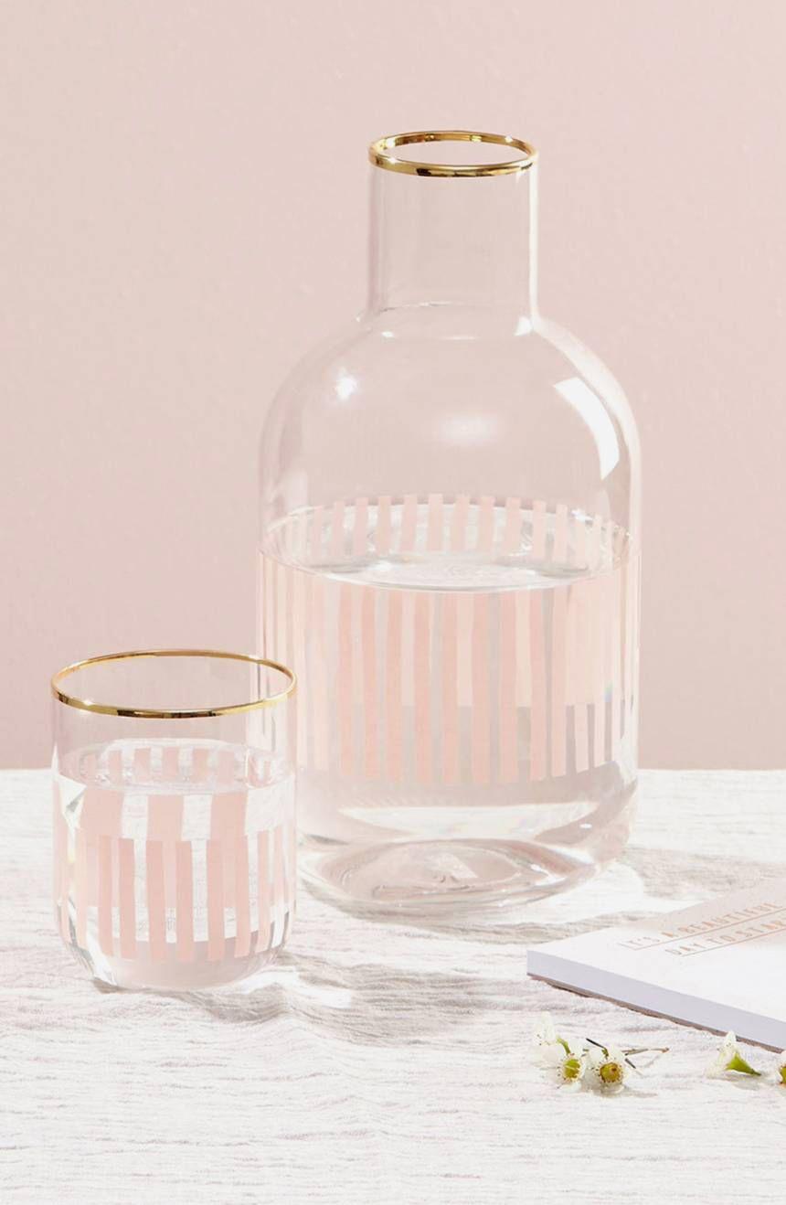 kikki.K Carafe & Glass Set