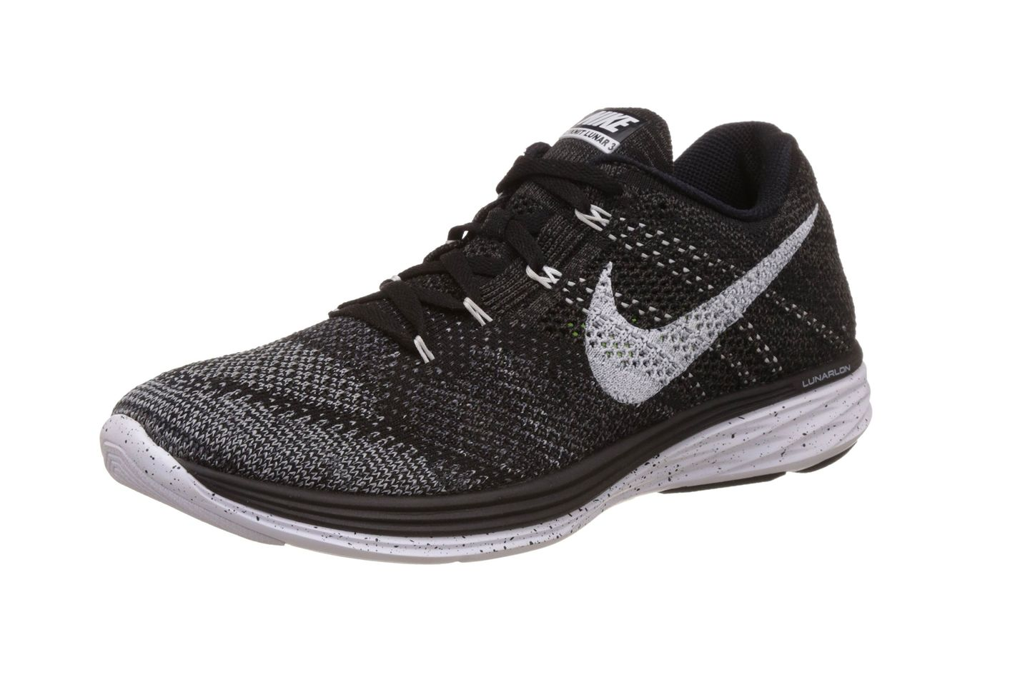 new product a5d9a 608f6 Nike Men s Flyknit Lunar 3 Running Shoe at Amazon