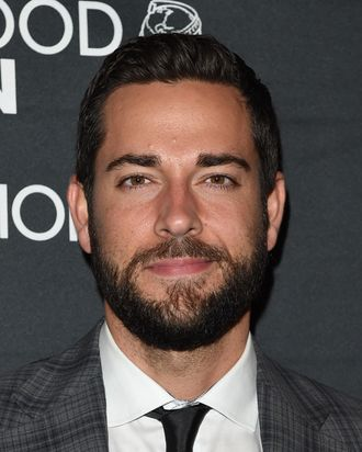 TORONTO, ON - SEPTEMBER 06: Actor Zachary Levi attends HFPA & InStyle's 2014 TIFF celebration during the 2014 Toronto International Film Festival at Windsor Arms Hotel on September 6, 2014 in Toronto, Canada. (Photo by Jason Merritt/Getty Images)
