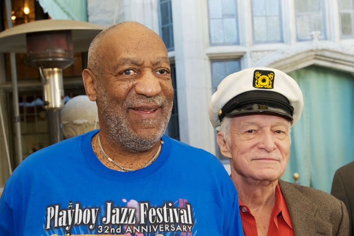 Cosby and Hefner.