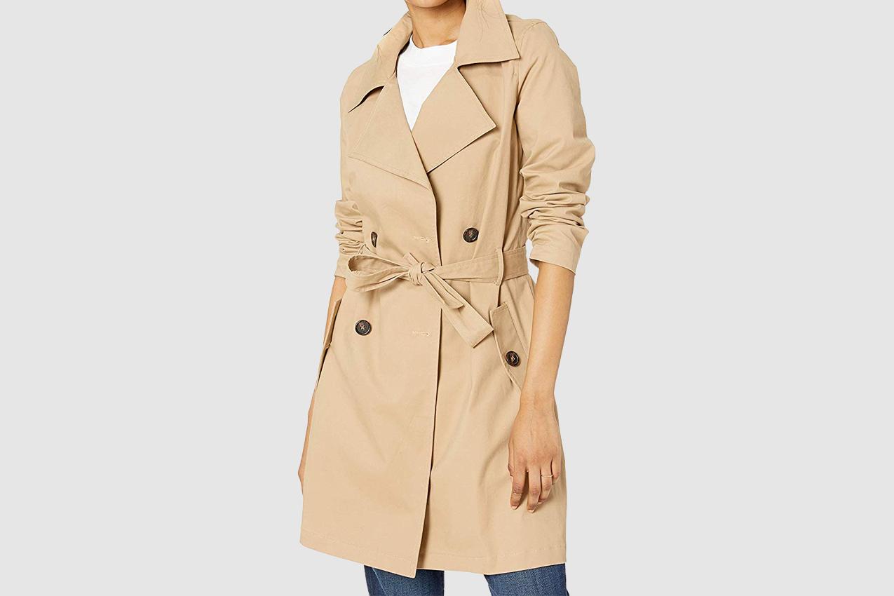 The Drop Women's Elisa Trench Coat