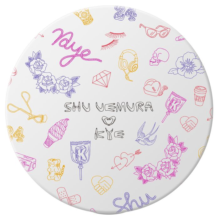The Shu Uemura x Kye makeup collaboration.