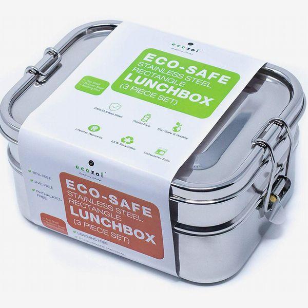 Ecozoi Leak-Proof Stainless Steel 1-Tier Eco Lunch Box