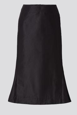 Uniqlo +J Silk-Blend Flared Skirt