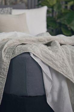 Matteo Mica Linen Sheet Set