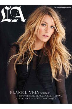 Blake Lively for the <em>Los Angeles Times Magazine</em>.