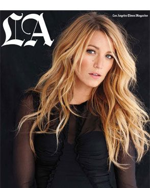 Blake Lively for the <em>Los Angeles Times Magazine</em>.