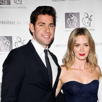NEW YORK, NY - JUNE 03: John Krasinski and Emily Blunt attend the 7th Annual