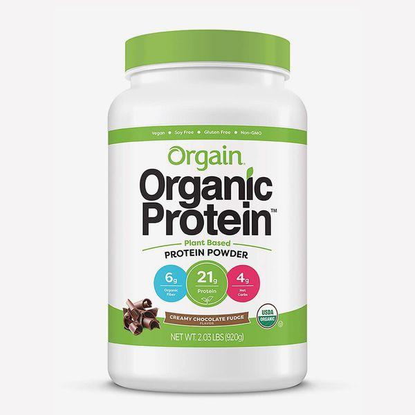 Orgain Organic Plant Based Protein Powder, Creamy Chocolate Fudge, 2 lb.