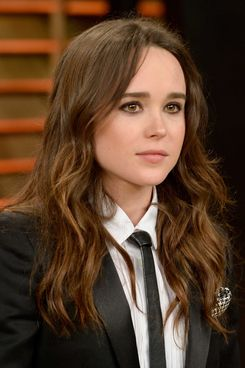 Actress Ellen Page attends the 2014 Vanity Fair Oscar Party hosted by Graydon Carter on March 2, 2014 in West Hollywood, California.