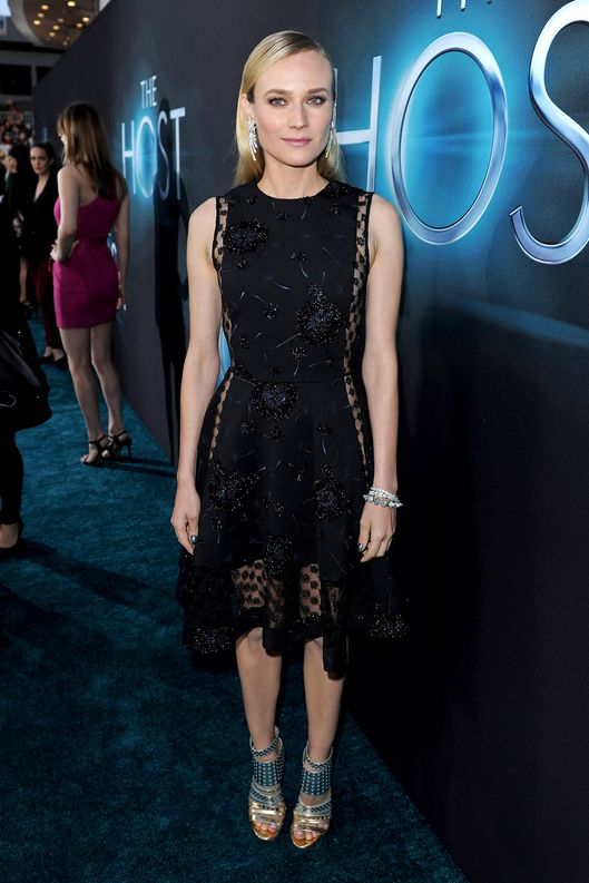 "Actress Diane Kruger attends the premiere of Open Road Films ""The Host"" at ArcLight Cinemas Cinerama Dome on March 19, 2013 in Hollywood, California."