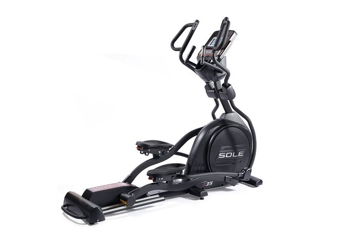 sole fitness e35 elliptical machine - strategist best fitness gear and best elliptical and step machines