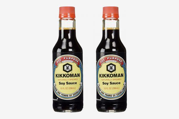 Kikkoman Soy Sauce, Pack of 2
