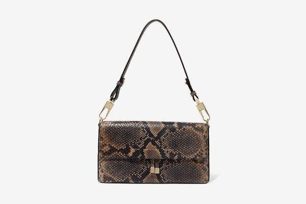 Chylak Flap Leather Shoulder Bag