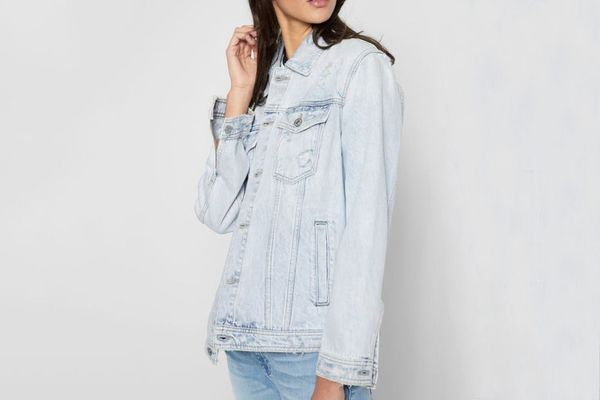 7 for All Mankind Oversized Boyfriend Jacket
