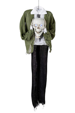 Spirit Halloween 57-Inch Hanging Headless Skeleton