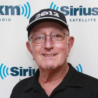 DJ Dave Herman visits SiriusXM Studio on August 24, 2012 in New York City.